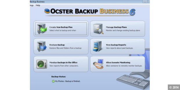Ocster Backup Business Version 6