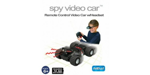 Wild Planet Video Spy Car