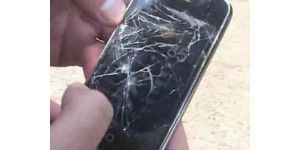 iPhone 3G im Crashtest