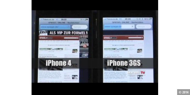 iPhone 4 vs. iPhone 3GS