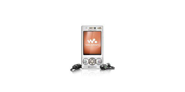 Das Sony Ericsson W715 (Vodafone) glänzt mit guter Klangqualität.