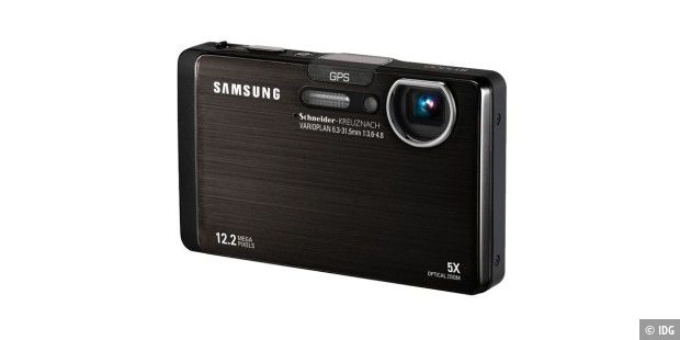 Samsung ST1000: Digitalkamera mit Wifi, Bluetooth und GPS