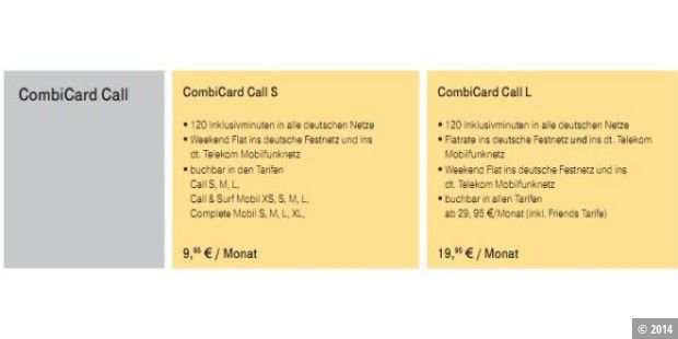 CombiCard Call
