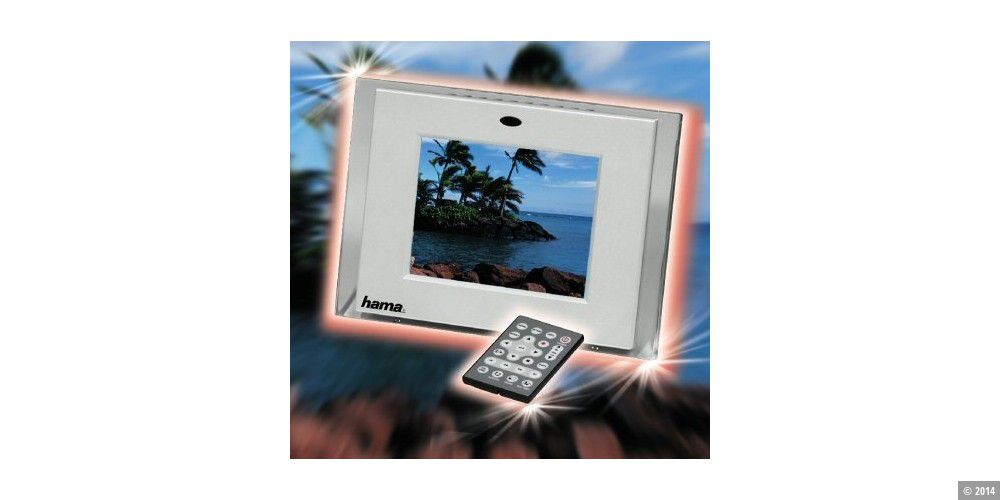 Bildspielerei: Digitaler Bilderrahmen von Hama - PC-WELT
