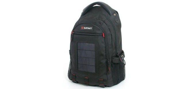 Solar Charging Rucksack