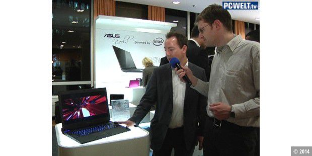 Asus bei der CeBIT-Preview 2010