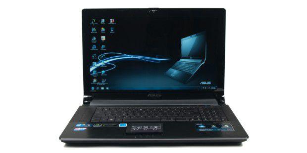 Schickes Multimedia-Notebook mit USB 3.0 im Test: Asus N73JF