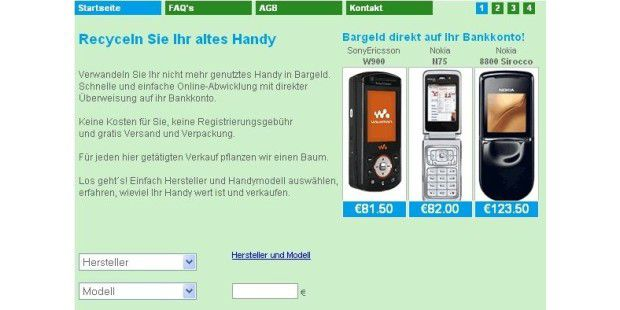 TalkGreener Handy-Recycling
