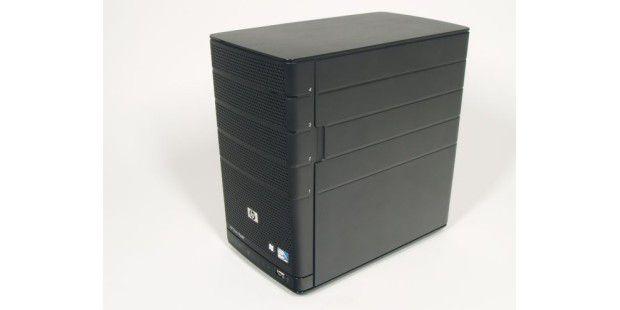 Das NAS-System HP Data Vault X312 ist ein Vierschachtgerät mit Windows Home Server.
