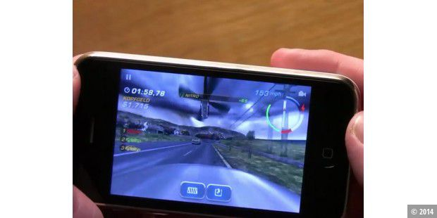 "iPhone-App ""Need for Speed Shift"""