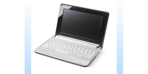 Netbook mit Intel Atom N280 im Test: Acer Aspire One D150
