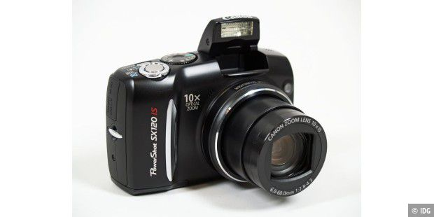 Canon Powershot SX120 IS im Test