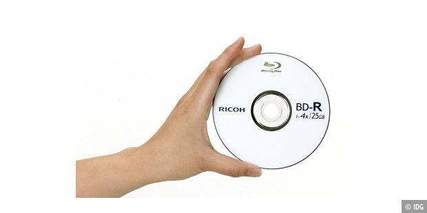 Ricoh Blueraydisk 25GB