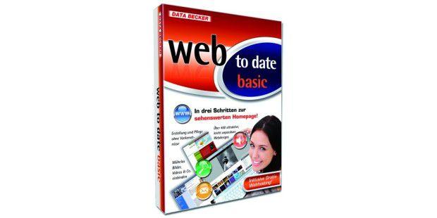 Mit Web to Date Basic kann jeder eine eigene Webpräsenz erstellen.