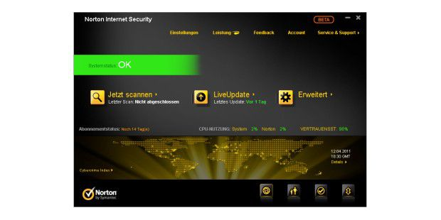 Norton Internet Security 2012 (Beta)