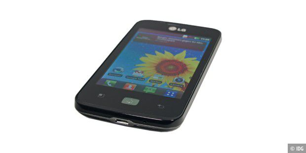 LG Optimus Hub mit 3,5 Zoll TFT-Display