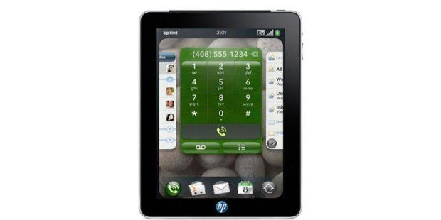 HP plant Tablet PC mit WebOS