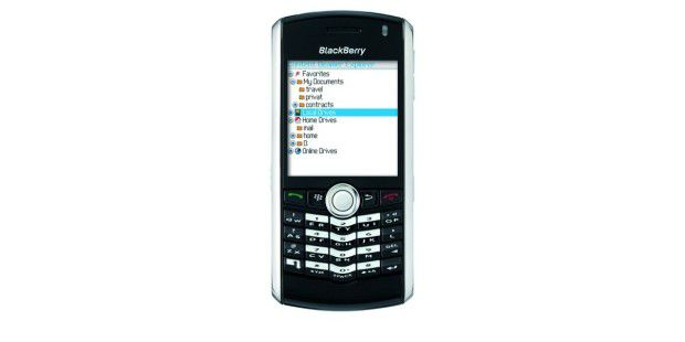Content Beamer for BlackBerry