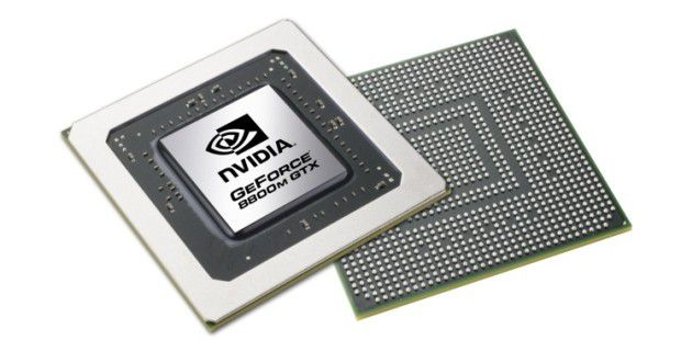 Nvidia Geforce 8800M GTX Chip
