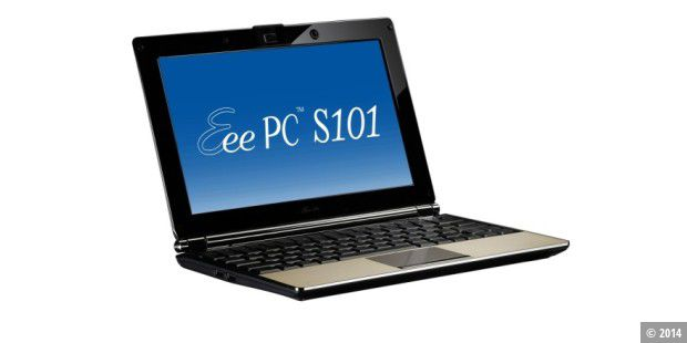 Super-flaches Netbook: Asus Eee PC S101