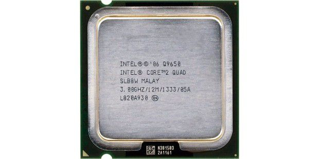 Intel Core 2 Quad Q9650 im CPU-Test