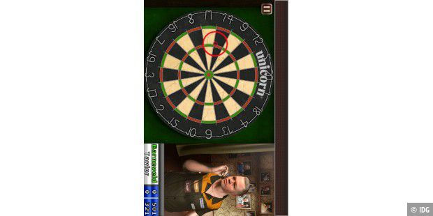 "iPhone-App ""PDC World Darts Championship"""
