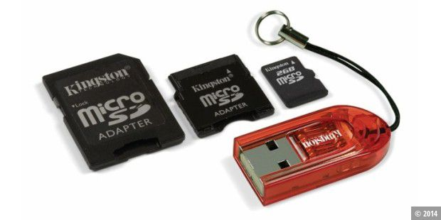 Kingston Micro SD Mobility-Kit - 2 GB