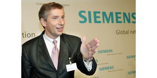 Stellt sich der Kritik der Mitarbeiter: Siemens-Chef Klaus Kleinfeld