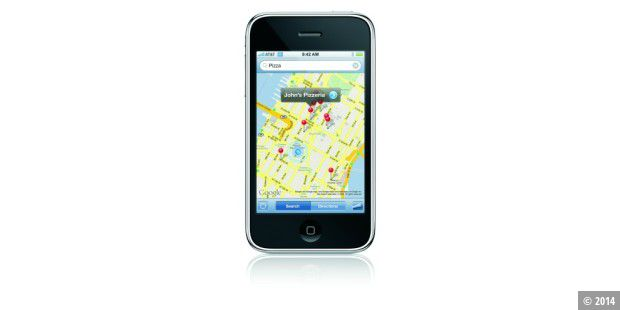 iPhone 3G Map