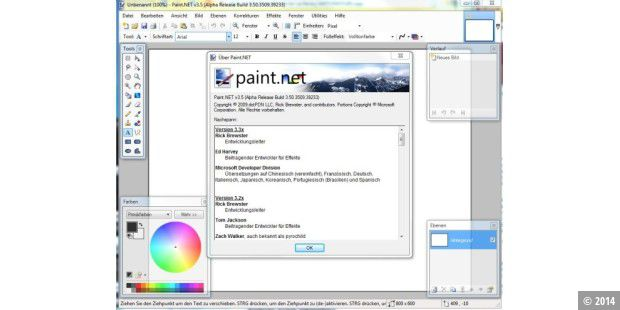 Paint.net 3.5 Alpha