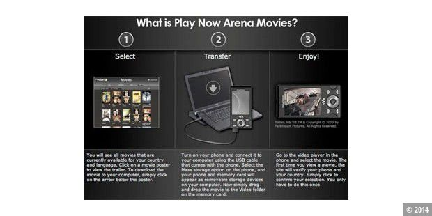 PlayNow Arena Movies