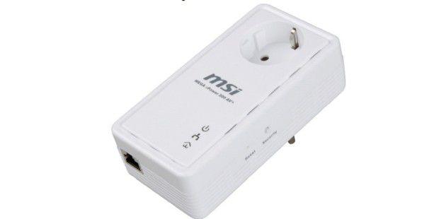 MSI HomePlug Mega ePower 200AV+ getestet