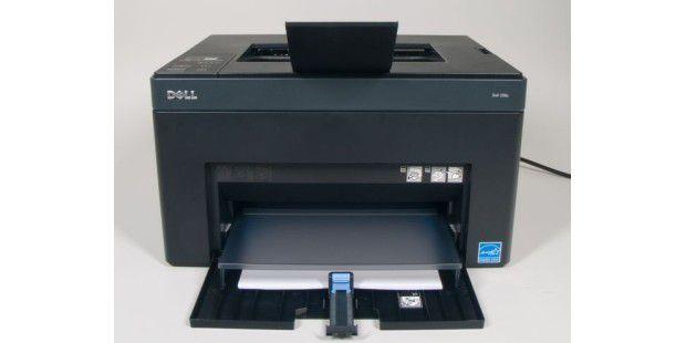 Der Dell 1250c ist ein kompakter Farblaser mit LED-Druckwerk.