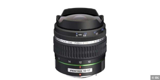Pentax-DA FISH-EYE 10-17mm F3.5-4.5ED (IF)