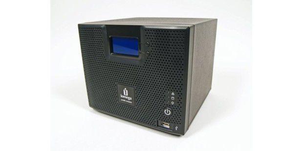 Iomega Storcenter ix4-200d: schnelles NAS-System für kleine Netze