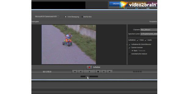 Videos vom Camcorder nach Premiere Elements importieren