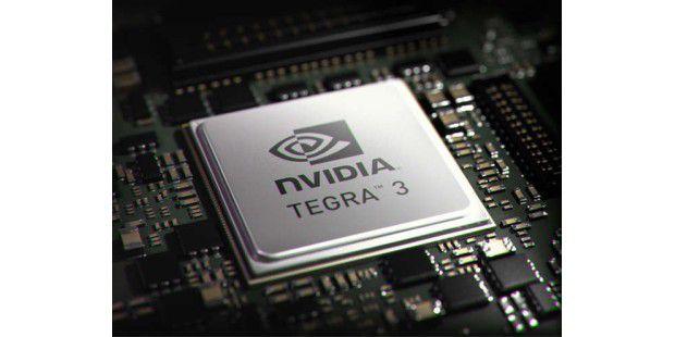 Nvidias Quad-Core-Prozessor Tegra 3.