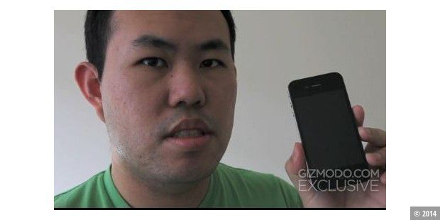 iPhone 4G im Video (Quelle: Gizmodo)