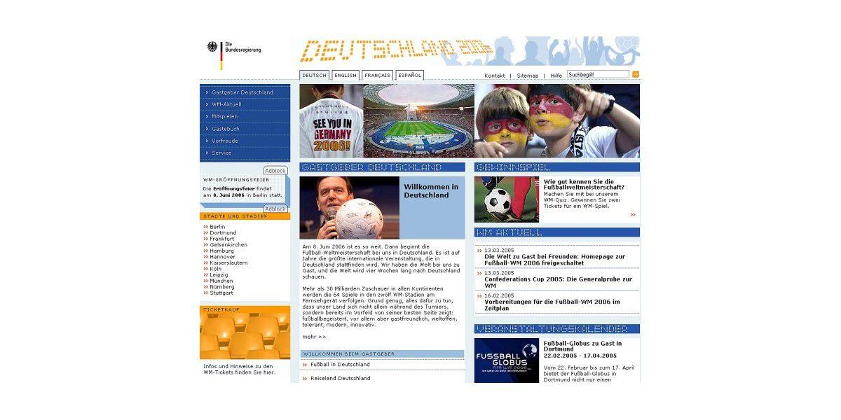 Cebit: Startschuss für Internetseite zur Fußball-WM - PC-WELT