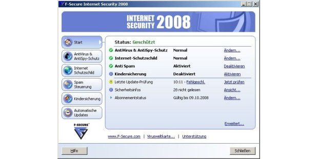F-Secure Internet Security 2008