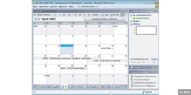 Teamarbeit mit Office 2007