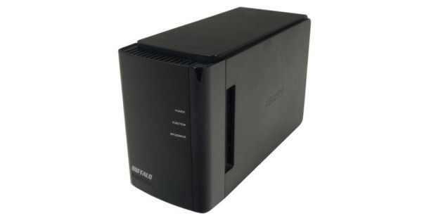 Ordentlicher Netzwerkspeicher (NAS): Buffalo Linkstation Duo LS-WX2.0TL/R1