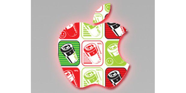 Schwindene Akkulaufzeit bei iPhone-Geräten.