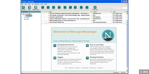 Netscape Messenger 9.0
