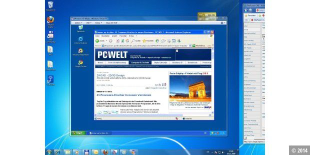 Windows Virtual PC & XP Mode