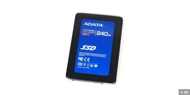 SSD im Test: Adata S511 Series 240GB (AS511S3-240GM-C)
