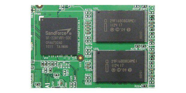 Tempomacher: Der Controller und die Flash-Chips der AdataS511 Series 240GB