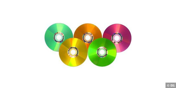 Verbatim Colored DVDs