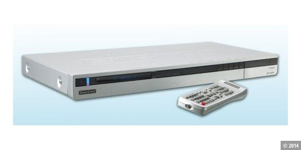 SilverCrest DVD-Player mit DivX, Nero Digital und Kartenleser
