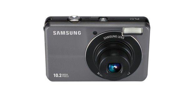 Digitalkamera Samsung PL51 mit 10 Megapixel Auflösung und 3fach-Zoom
